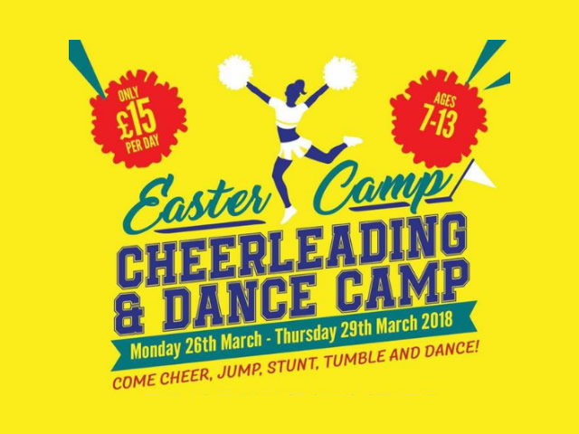 Cheerleading & Dance Camp this Easter Featured Image