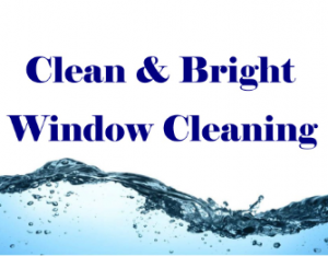 Clean and Bright Window cleaning